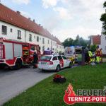 Person in Notlage und Wohnhausbrand vom 03.06.2021