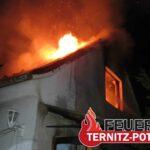 Wohnhausbrand vom 24.10.2021